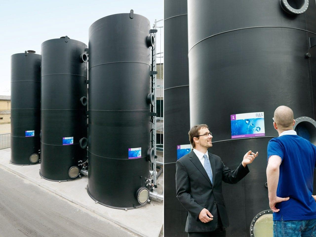 Biologische Abwasserbahendlung mit den TFR-Reaktoren | DAS EE