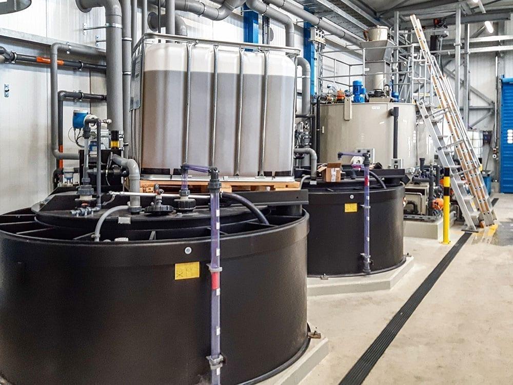 Abwasserbehandlung Lebensmittelindustrie
