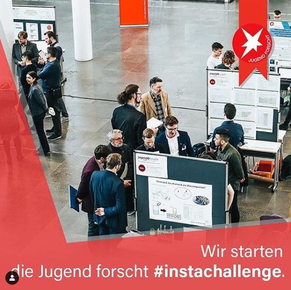 DAS und Jugend Forscht organisieren erste Instagram-Challenge