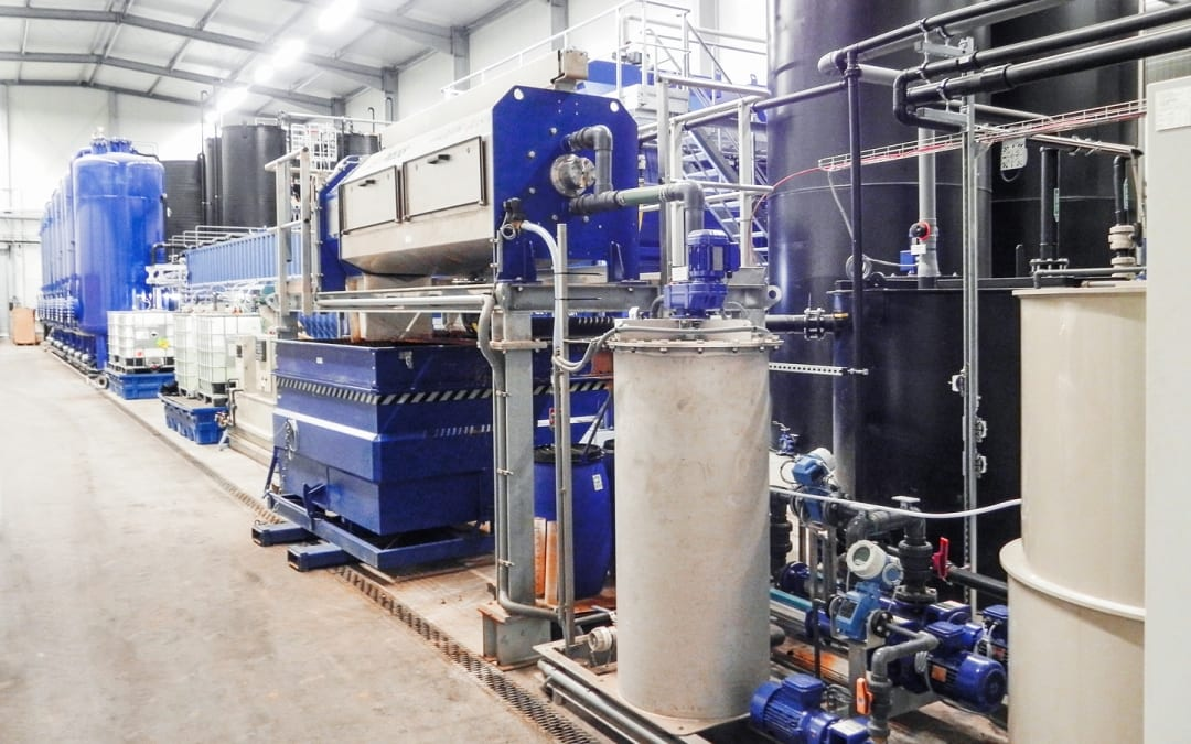 Clean groundwater thanks to a purification plant from DAS Environmental Expert GmbH