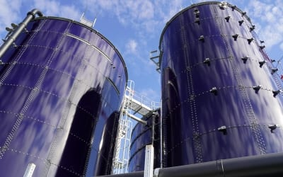 Wastewater treatment plant at DSM Nutritional Products AG