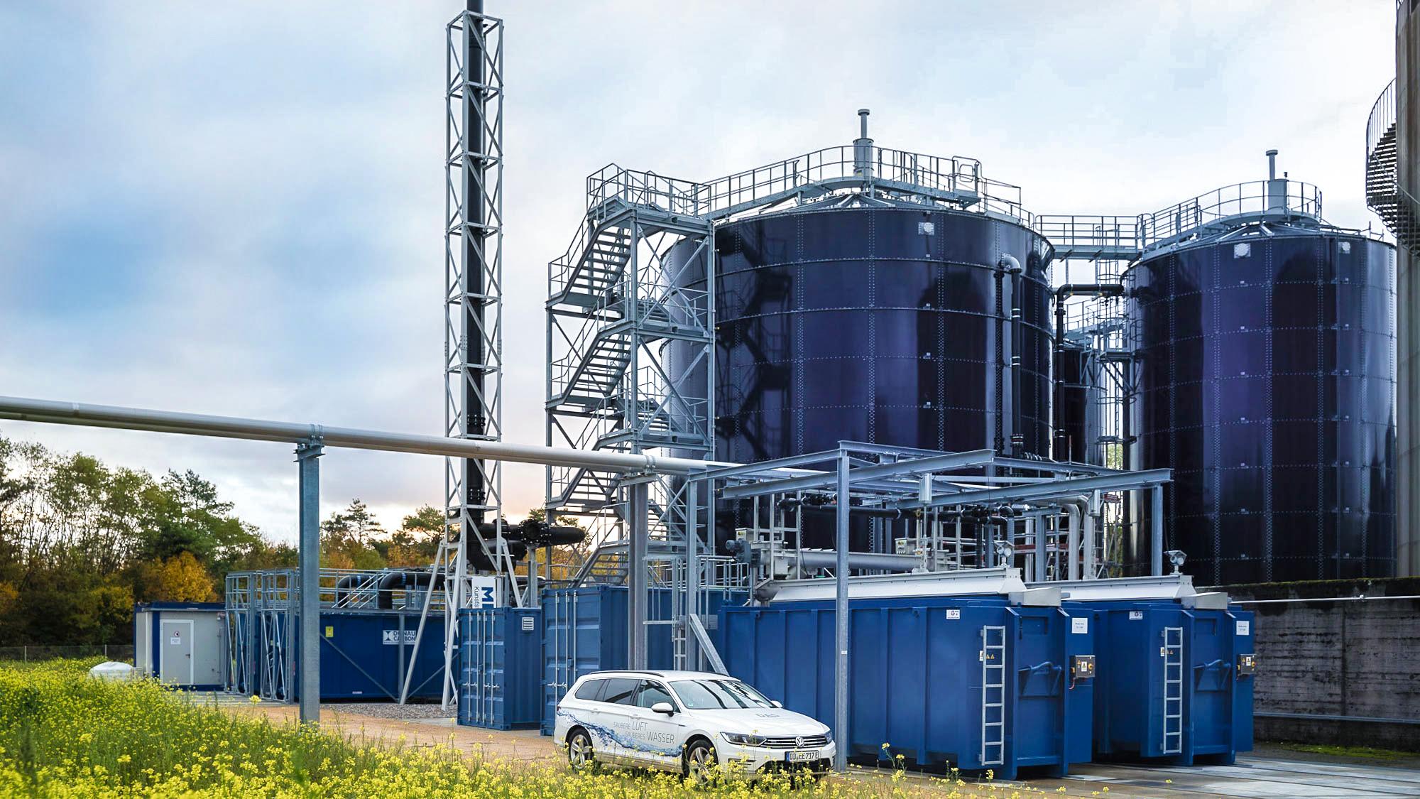 DSM in Sisseln vertraut bei der Abwasserbehandlung auf die die zweistufige MBBR-Anlage der DAS EE.