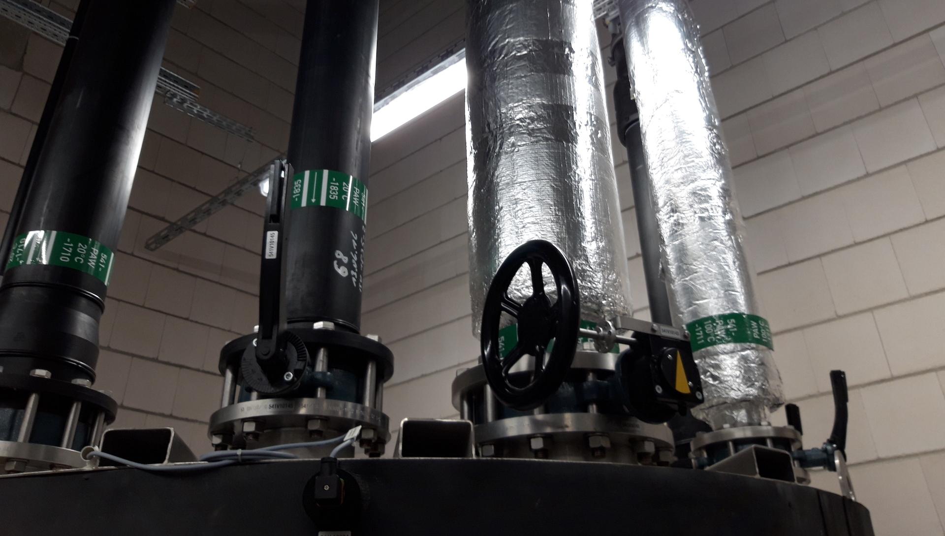 Biotest-Abwasseraufbereitung