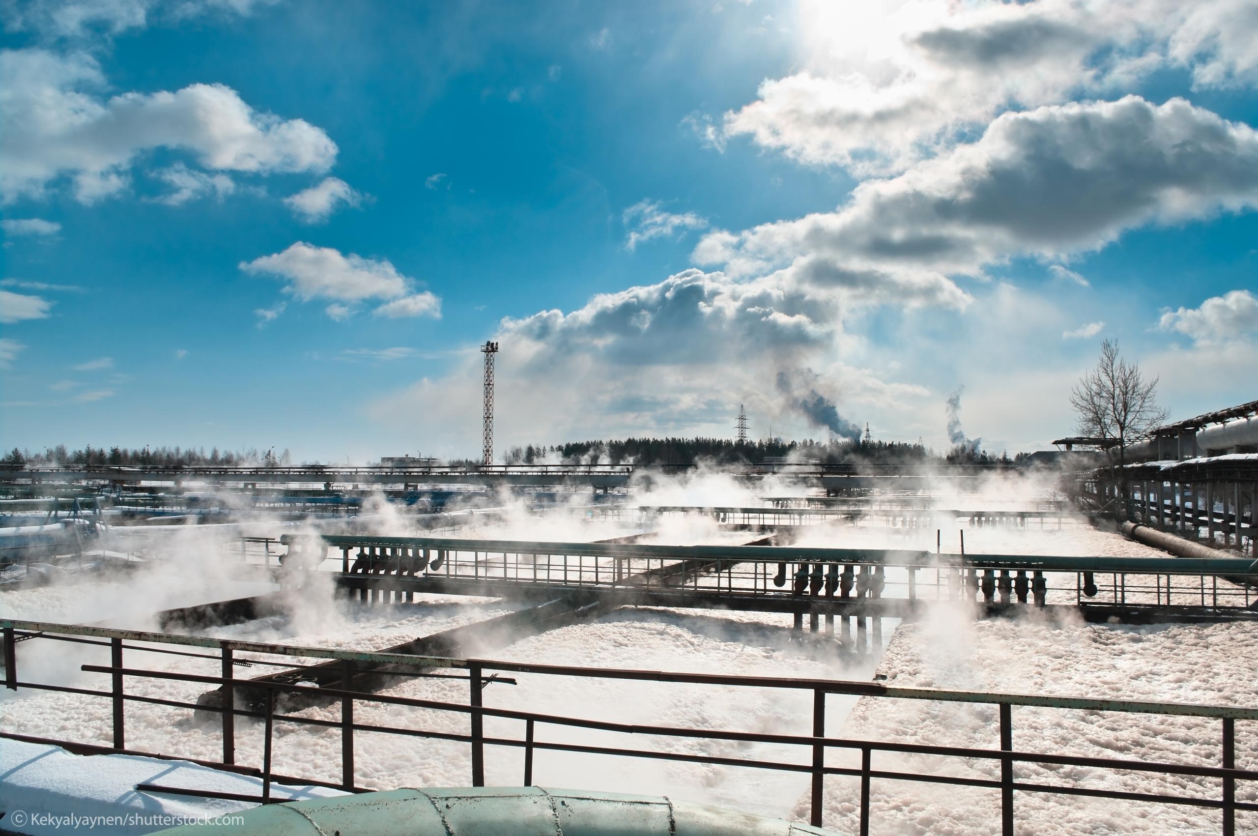 Planung Abwasserbehandlung Chemische industrie